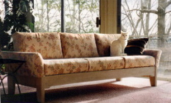 Light, Airy Hand Crafted Cabin Sofa