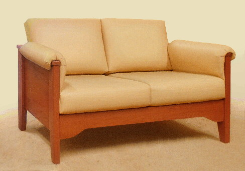 small Florida contemporary loveseat