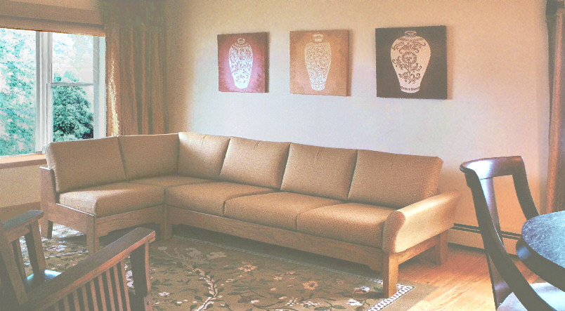 All Wood Sectional