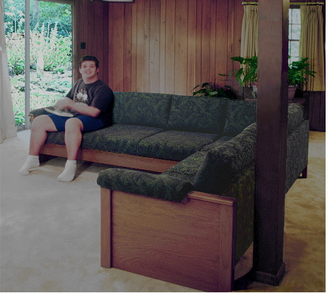 heavy-duty sectional sofa