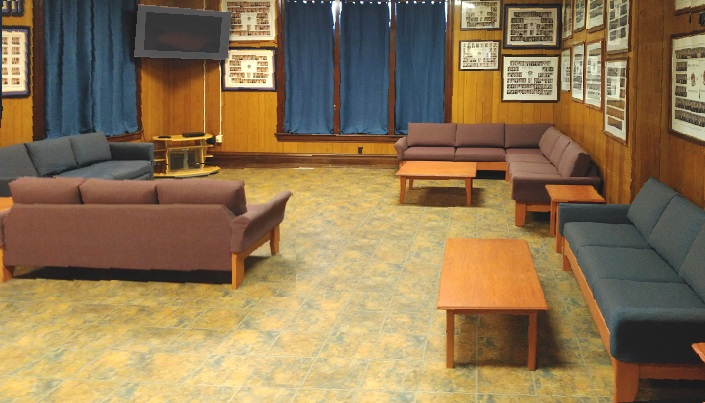 heavy duty sofas, sectional sofas and coffee tables for fraternity use
