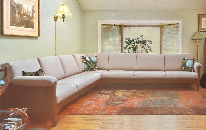 Sectional Contemporary Sofas, Small, Large Or Custom
