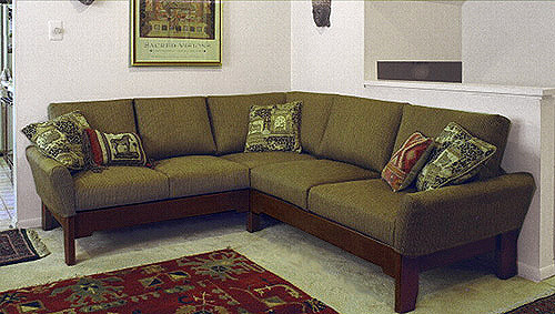 small custom size sectional sofa