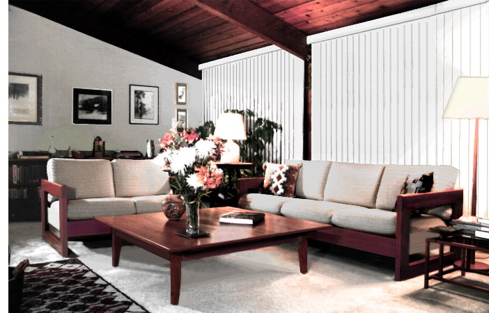 handcrafted furniture - sofas