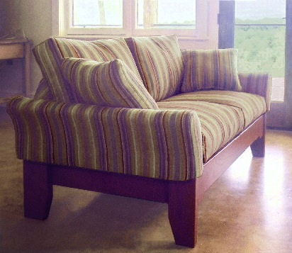 Scandinavian small sofa, Virginia model