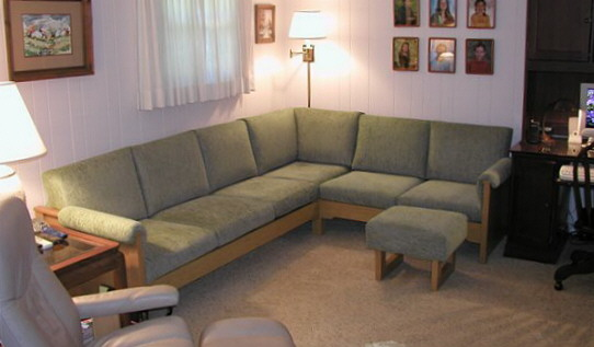 custom-size sectional couch