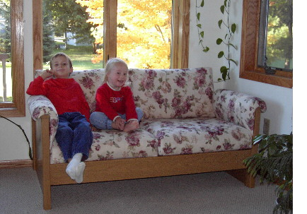 Contemporary Sunroom Sofa Customers Expecting Heavy