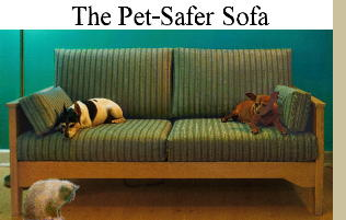 striiped pet-practical sofas and loveseats