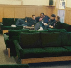 congenial, heavy-use sofas for fraternities