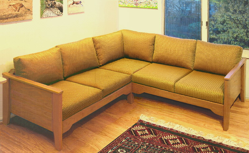 small sectional for reclining on