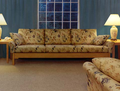 Extra Long Oak Sofa