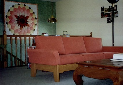 Scandinavian Living Room Sofa