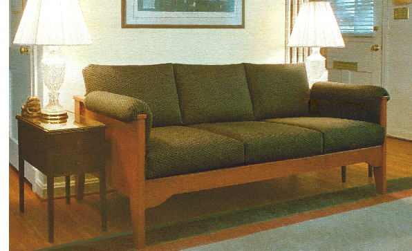 special height Florida sofa