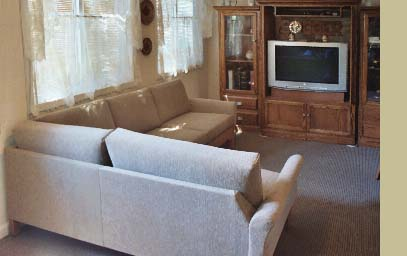 small contemporary sectional